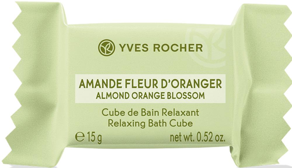 Yves Rocher сахар для ванны Миндаль и флердоранж, 15 г41198Мечтаете наполнить Вашу ванну расслабляющим ароматом и отвлечься от повседневных забот? Попробуйте Сахар для Ванны «Миндаль & Флердоранж».Твердая добавка для ванн «Сахар для Ванны» растворяется в воде, превращаясь во множество ароматных микропузырьков, наполняющих Вашу ванну изысканными нотками нежного Миндаля и чарующего Флердоранжа.Погрузитесь в атмосферу безмятежного спокойствия и абсолютной релаксации!Его +:Формула содержит более 95% компонентов натурального происхождения. Без консервантов.