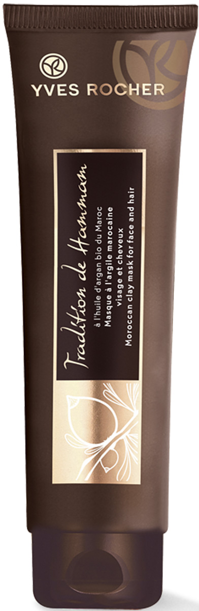Yves Rocher восточная маска для лица и волос с марокканской глиной, 100 мл68712Гладкая' очищенная кожа! Восточная Маска для Лица и Волос сочетает Масло Аргании БИО и марокканскую глину' обладающую очищающими и смягчающими свойствами. После нанесения маски Ваша кожа станет гладкой и очищенной' а волосы - мягче и красивее! Протестировано под дерматологическим контролем.