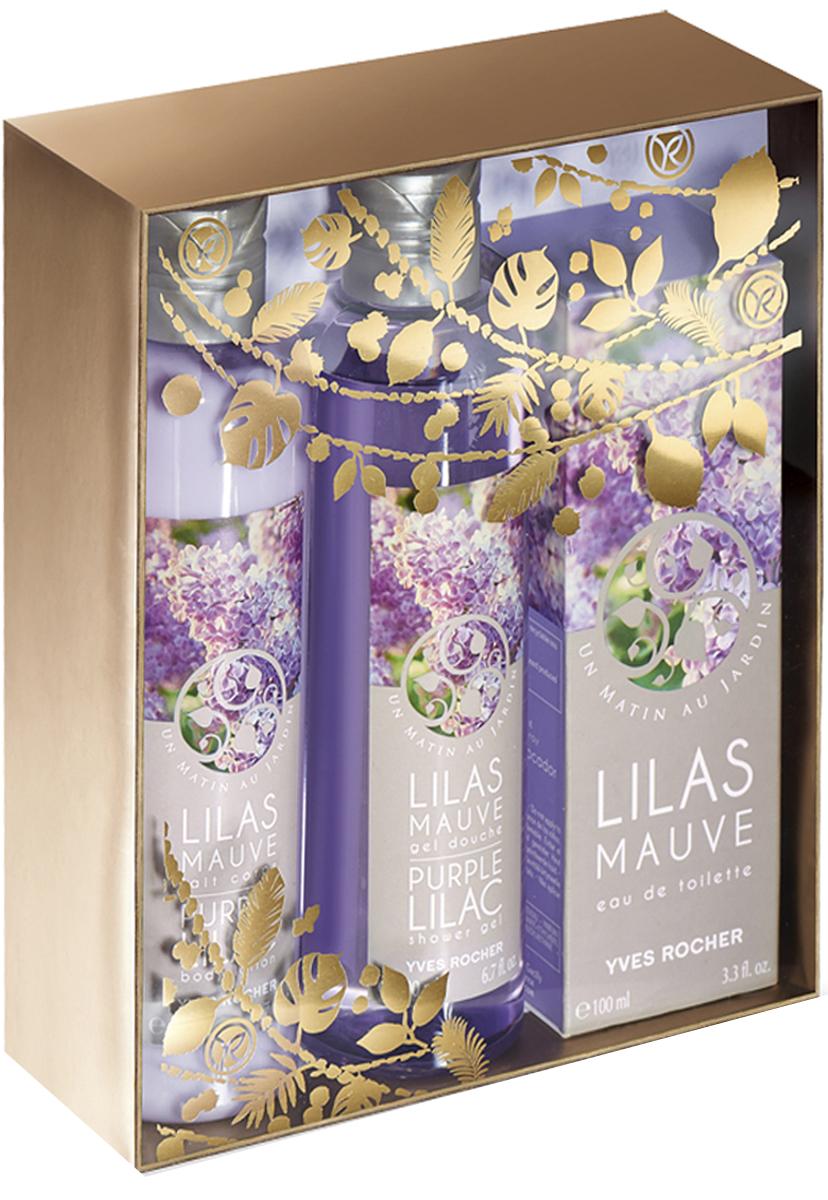 Yves Rocher набор Цветущая сирень: туалетная вода, 100 мл, гель для душа, 200 мл и молочко для тела, 200 мл86539Туалетная Вода «Цветущая Сирень», 100 млОткройте для себя нежную свежесть цветов Сирени, воплощенную в аромате с мягкими пудровыми нотками, дарящими Вашей коже тонкий аромат.Молочко для Тела «Цветущая Сирень», 200 млВся нежная свежесть предрассветных цветов Сирени в Молочке для Тела с ароматом Туалетной Воды «Цветущая Сирень». Его насыщенная текстура быстро впитывается, даря коже бархатистость и окутывая ее тонким ароматом.Гель для Душа «Цветущая Сирень», 200 млВся нежная свежесть предрассветных цветов Сирени в Геле для Душа, окутывающем тело нежной воздушной пеной. Обогащенный гелем Алоэ Вера БИО он дарит Вашей коже необыкновенную мягкость и тонкий аромат.