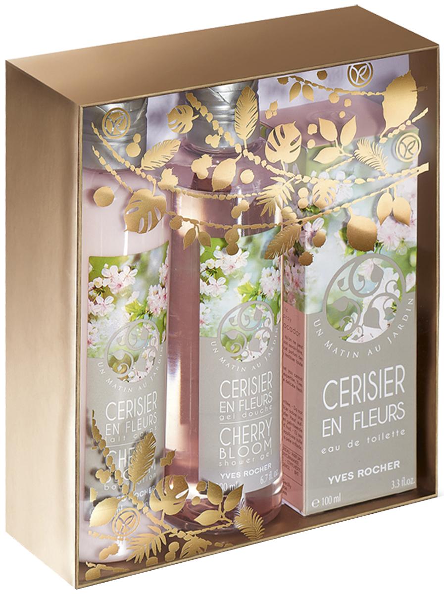 Yves Rocher набор Вишня в цвету: туалетная вода, 100 мл, гель для душа, 200 мл, молочко для тела, 200 мл87795Туалетная Вода «Вишня в Цвету», 100 млОткройте нежный аромат и весеннюю свежесть цветущей Вишни, воплощенные в Туалетной Воде «Вишня в Цвету» с мягкими, бархатными нотками.Гель для Душа «Вишня в Цвету», 200 млНасладитесь нежным ароматом цветущей Вишни' воплощенным в Геле для Душа. Легкая воздушная текстура' обогащенная гелем Алоэ Вера БИО' дарит Вашей коже нежность и тонкий аромат.
