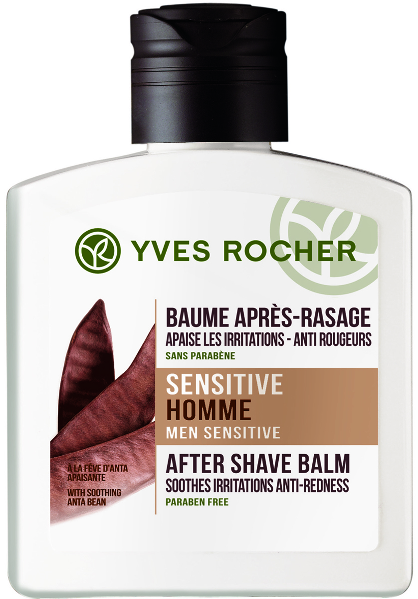 Yves Rocher бальзам после бритья Антский Боб, 100 мл - Мужские средства для бритья и уход за бородой