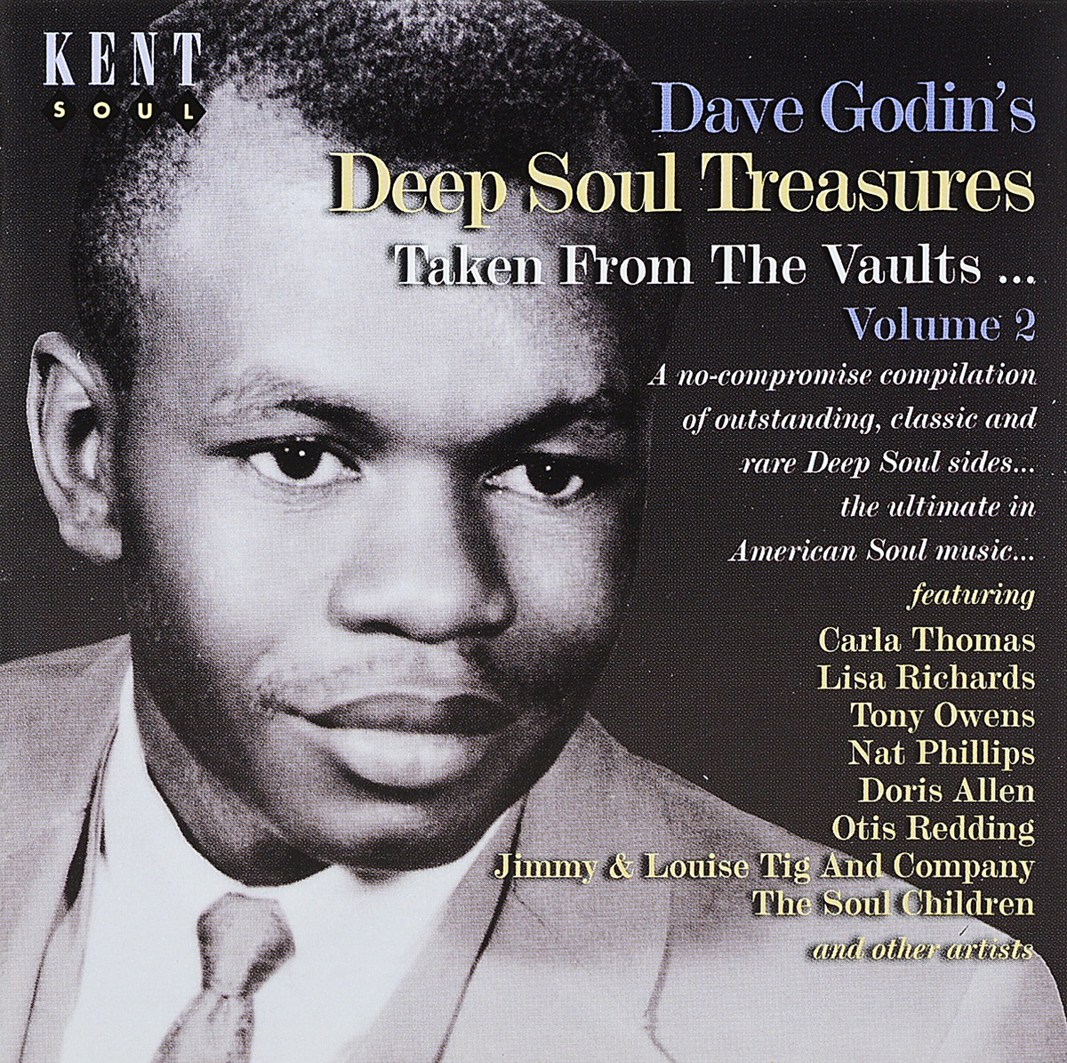 Dave Godin's Deep Soul Treasures (Taken From The Vaults...) Volume 2 kent west and the weald