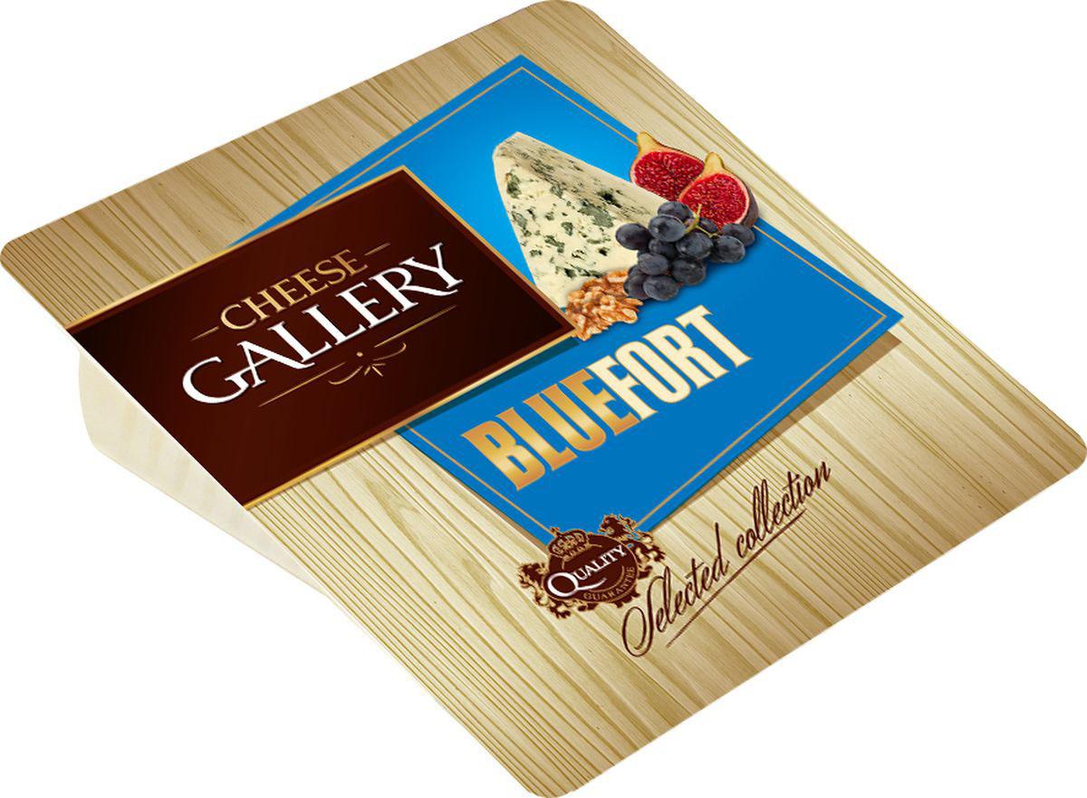 Cheese Gallery Сыр Bluefort, 56%, c голубой плесенью, 135 г сыр сheese gallery bluefort 56