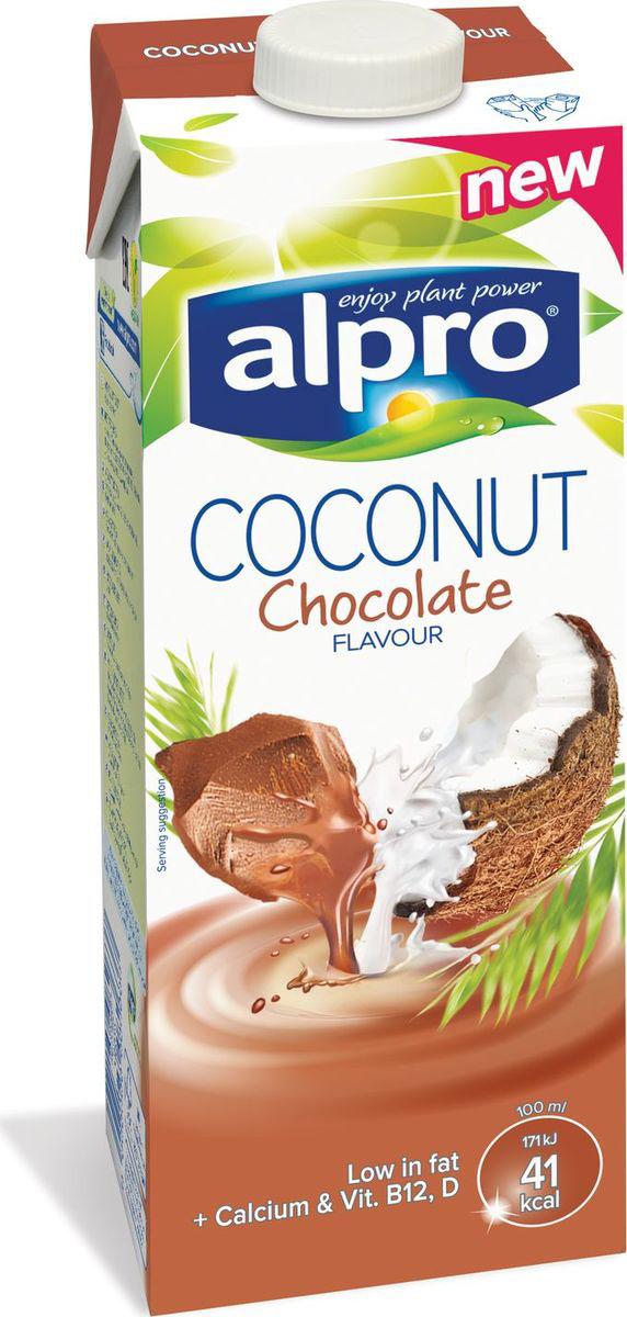 Alpro Кокосово-шоколадный напиток, 1 л670-125Изумительное сочетание тропического кокоса и нежного шоколада, звучит соблазнительно? Кокосово-шоколадный Alpro - это удовольствие, которое вы можете себе позволить, не беспокоясь о лишних калориях.Источник кальция и витаминов B12 и D.Пищевая ценность в 100 мл продукта:жиры - 1,1 г., белки - 0,4 г., углеводы - 6,8 г.Энергетическая ценность в 100 мл. продукта: 40 Ккал.