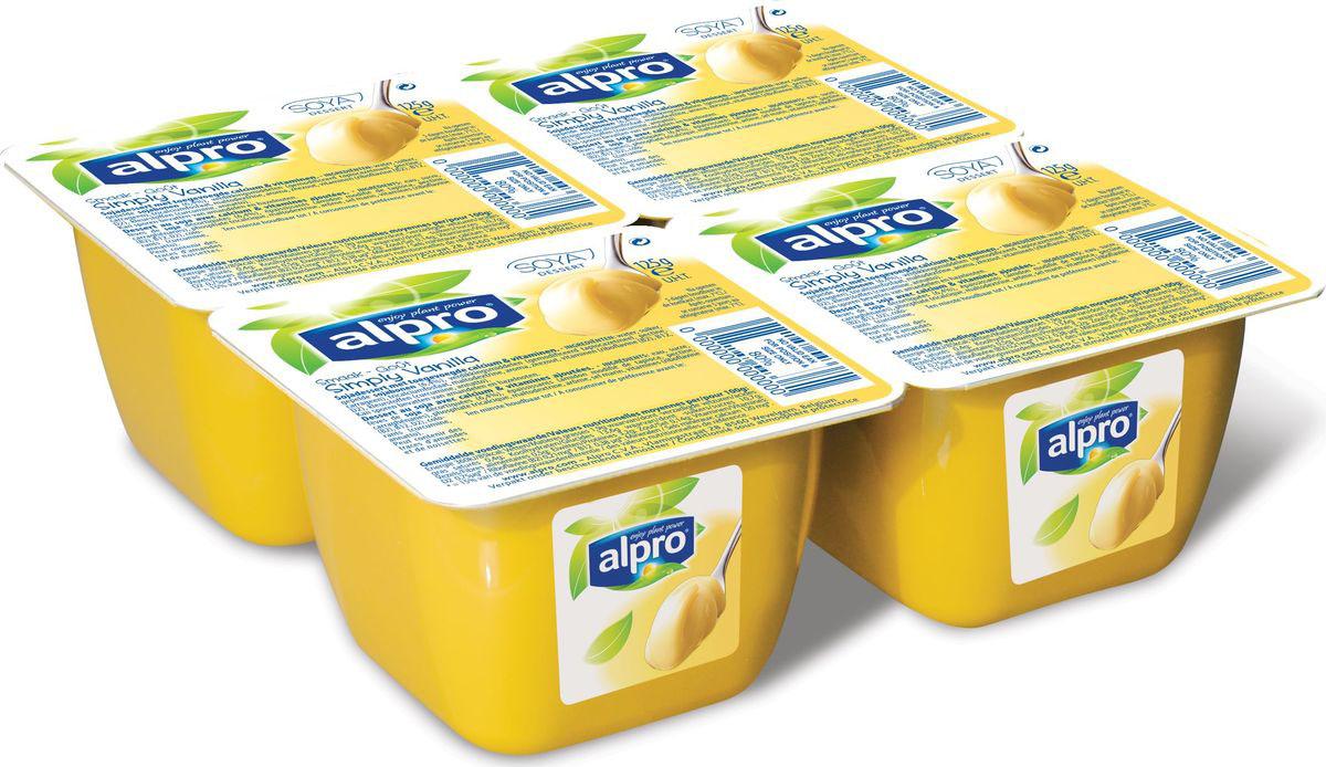 Alpro Ванильный соевый десерт, 125 г670-310Соя и ваниль, - прекрасное сочетание нежной кремовой текстуры и богатого вкуса. Насладитесь каждой ложкой нашего неповторимого десерта!Источник кальция и витаминов B2, B12 и D2.Пищевая ценность в 100г продукта:жиры-1,9 г., белки-3,2 г., углеводы-13,6 г.Энергетическая ценность в 100 мл. продукта: 85 Ккал.