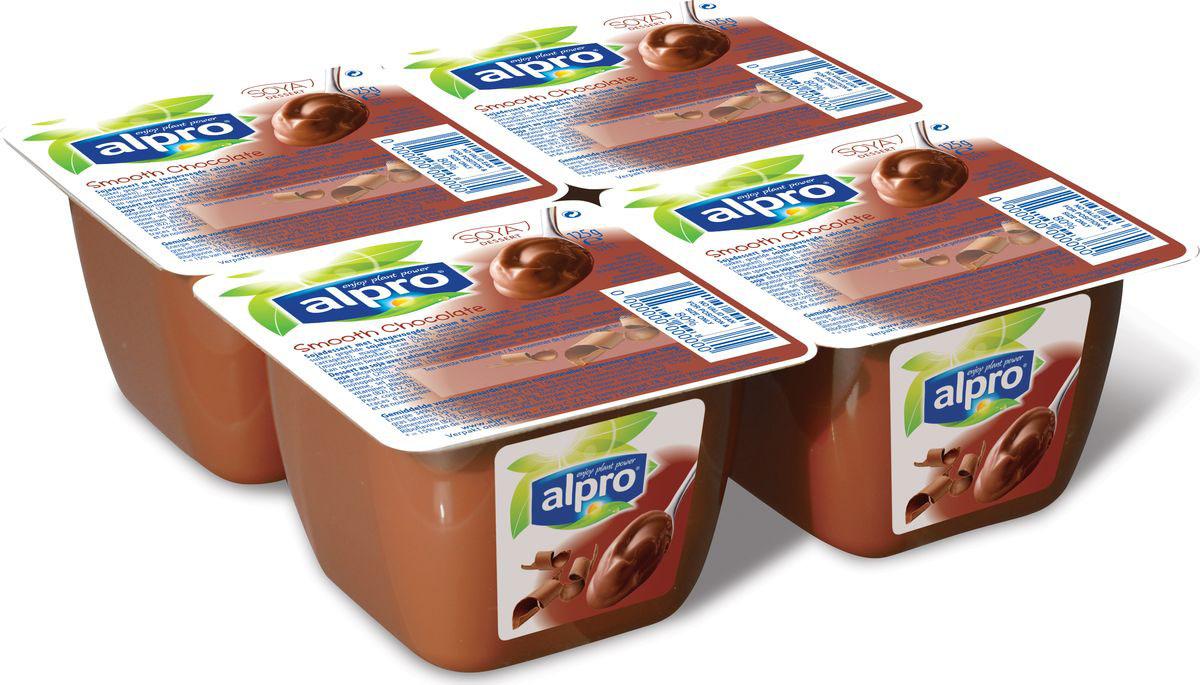 Alpro Шоколадный соевый десерт, 125 г670-312Вы непременно полюбите шоколадный десерт Alpro за его богатый шоколадный вкус и нежную, тающую во рту, сливочную текстуру. Насладитесь каждой ложкой нашего неповторимого десерта.Источник кальция и витаминов B2, B12 и D2.Пищевая ценность в 100г продукта:жиры-1,9 г., белки-3,0 г., углеводы-13,0 г.Энергетическая ценность в 100 мл. продукта: 83 Ккал.