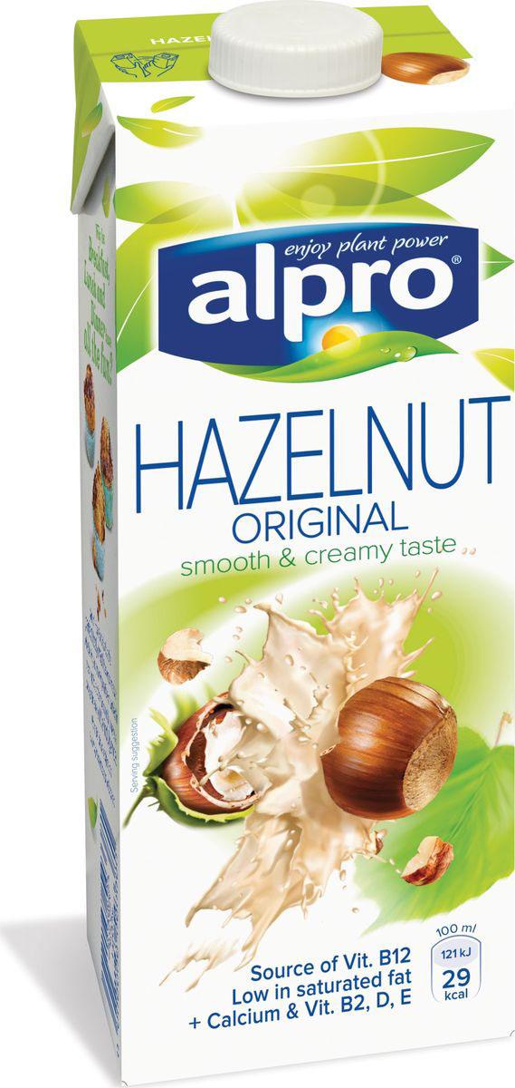Alpro Ореховый напиток, обогащенный кальцием и витаминами, 1 л пюре бабушкино лукошко пюре мясо цыплят с гречкой с 6 мес 100 г