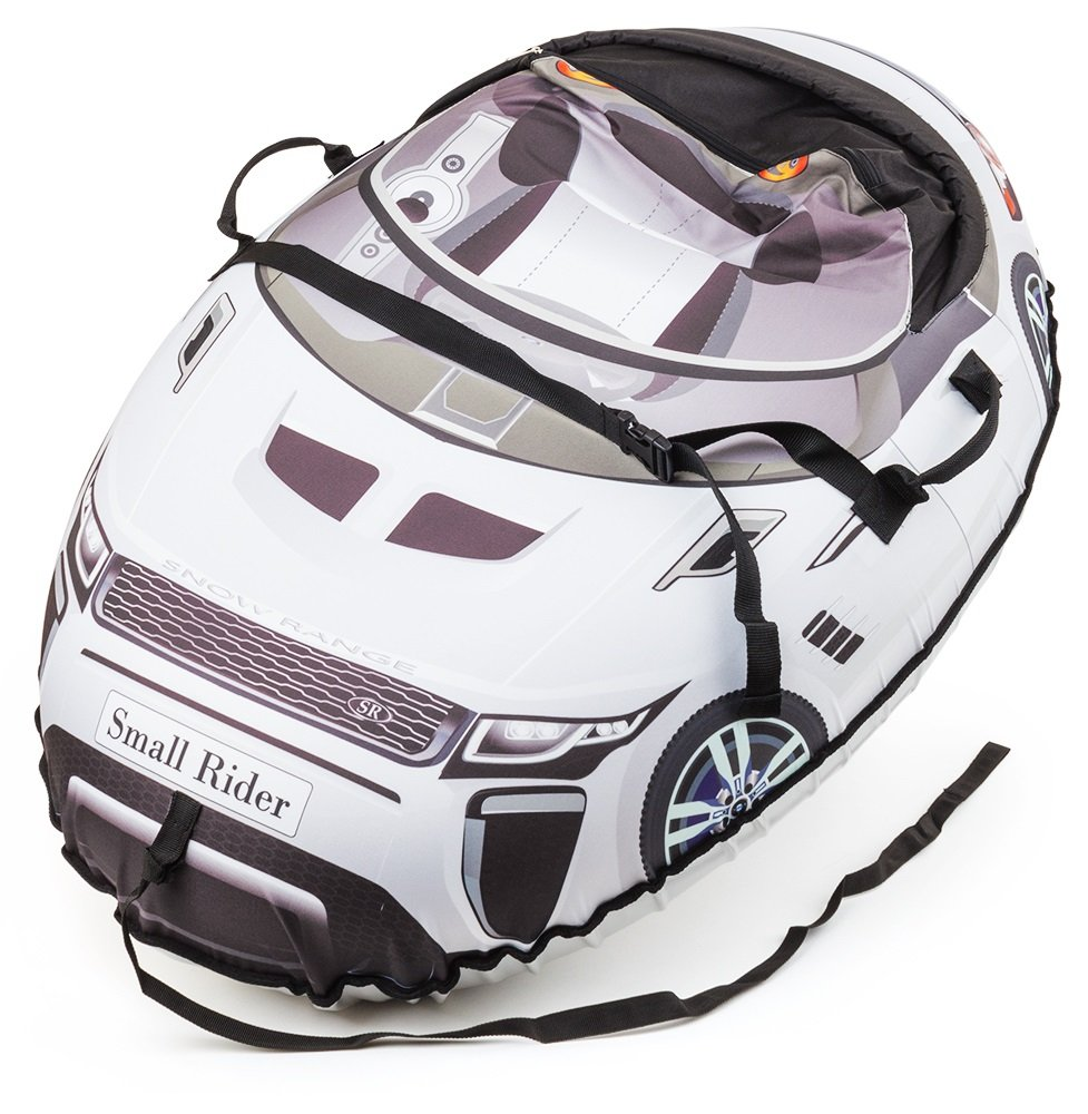 Small Rider Надувные санки-тюбинг Snow Cars 2 Ranger цвет белый - Тюбинги