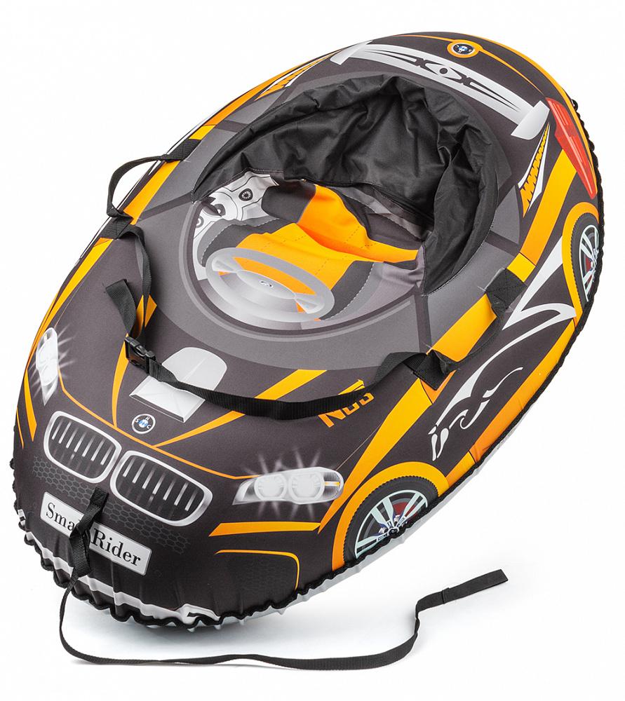 Small Rider Надувные санки-тюбинг Snow Cars 2 BM цвет оранжевый