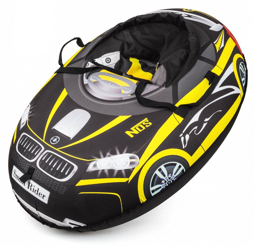 Small RiderНадувные санки-тюбинг Snow Cars 2 BM цвет желтый 332796 Small Rider