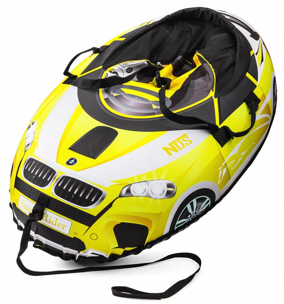 Small Rider Надувные санки-тюбинг Snow Cars 2 BM цвет желтый 332802