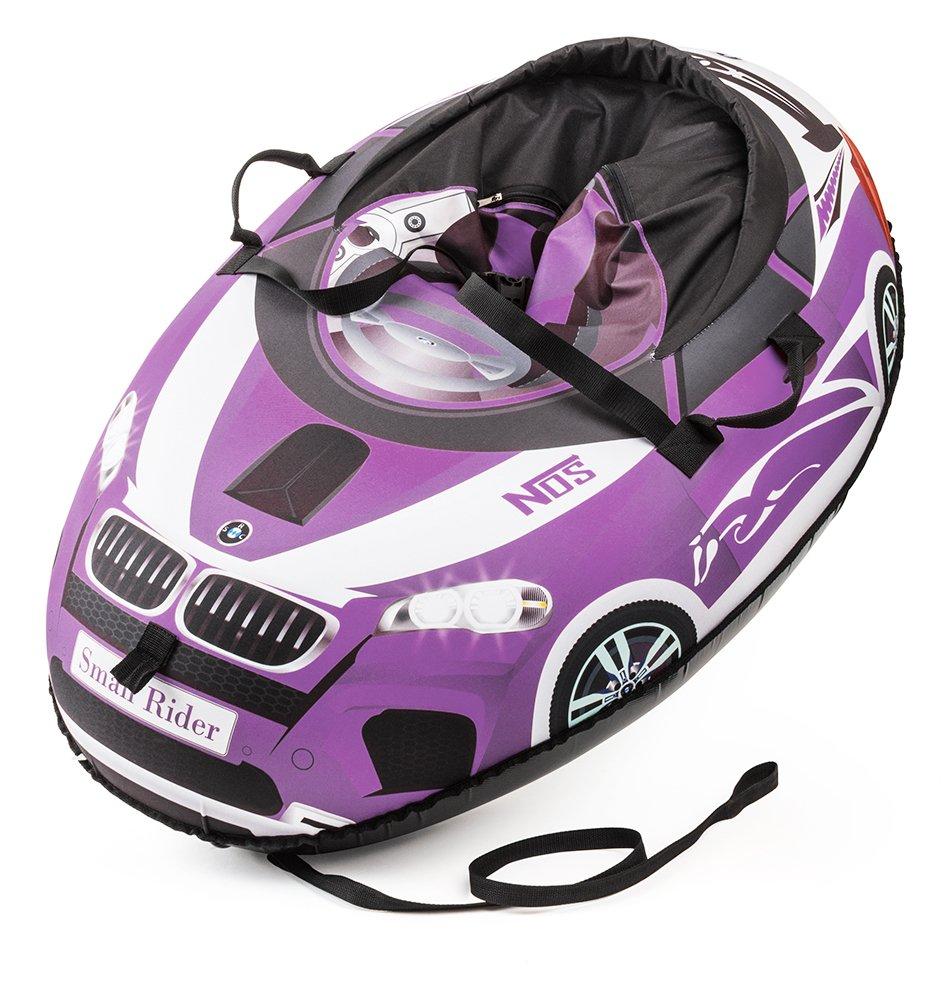 Small Rider Надувные санки-тюбинг Snow Cars 2 BM цвет фиолетовый