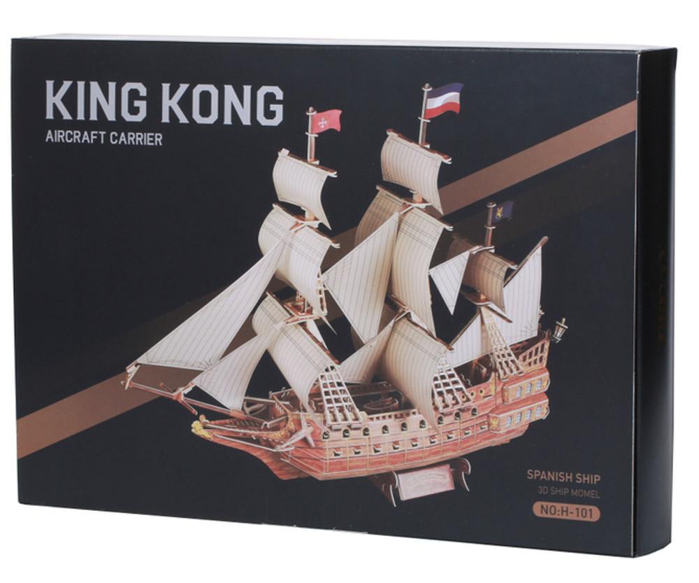 Zilipoo 3D Пазл Испанский Корабль
