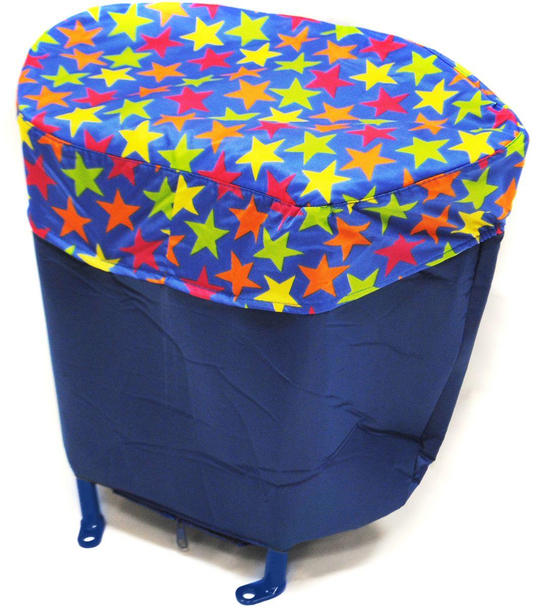 Русские Игрушки Багажник для санок Санимобиль цвет синий