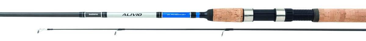 Удилище спиннинговое Shimano Alivio DX Spinn, 2,4 м, 20-50 г