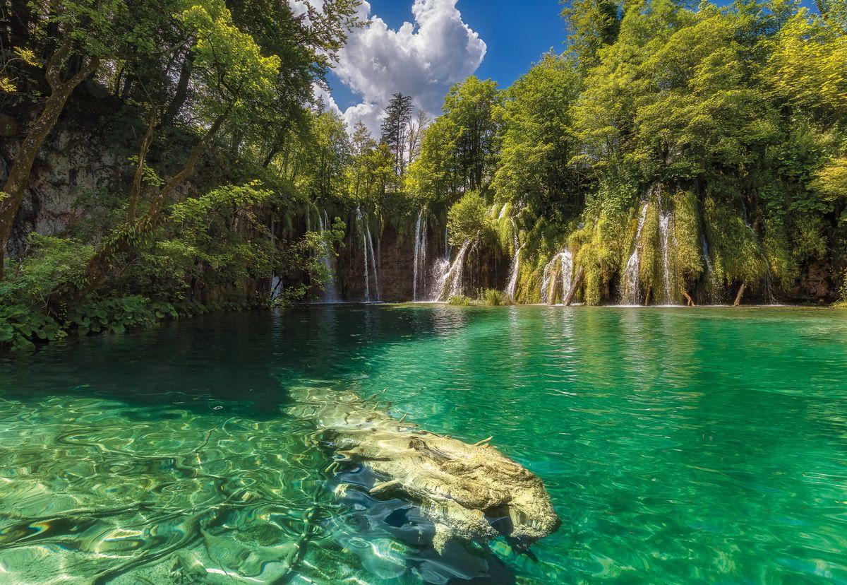 Фотообои Komar Eden Falls, 368 см х 2,54 м напольный вентилятор eden edc 1625
