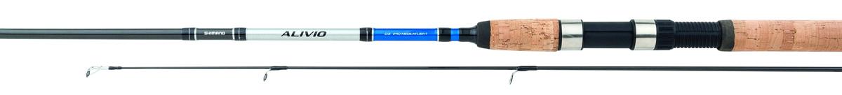 Удилище спиннинговое Shimano Alivio DX Spinn, 2,4 м, 7-21 г удилище спиннинговое shimano alivio dx 210m