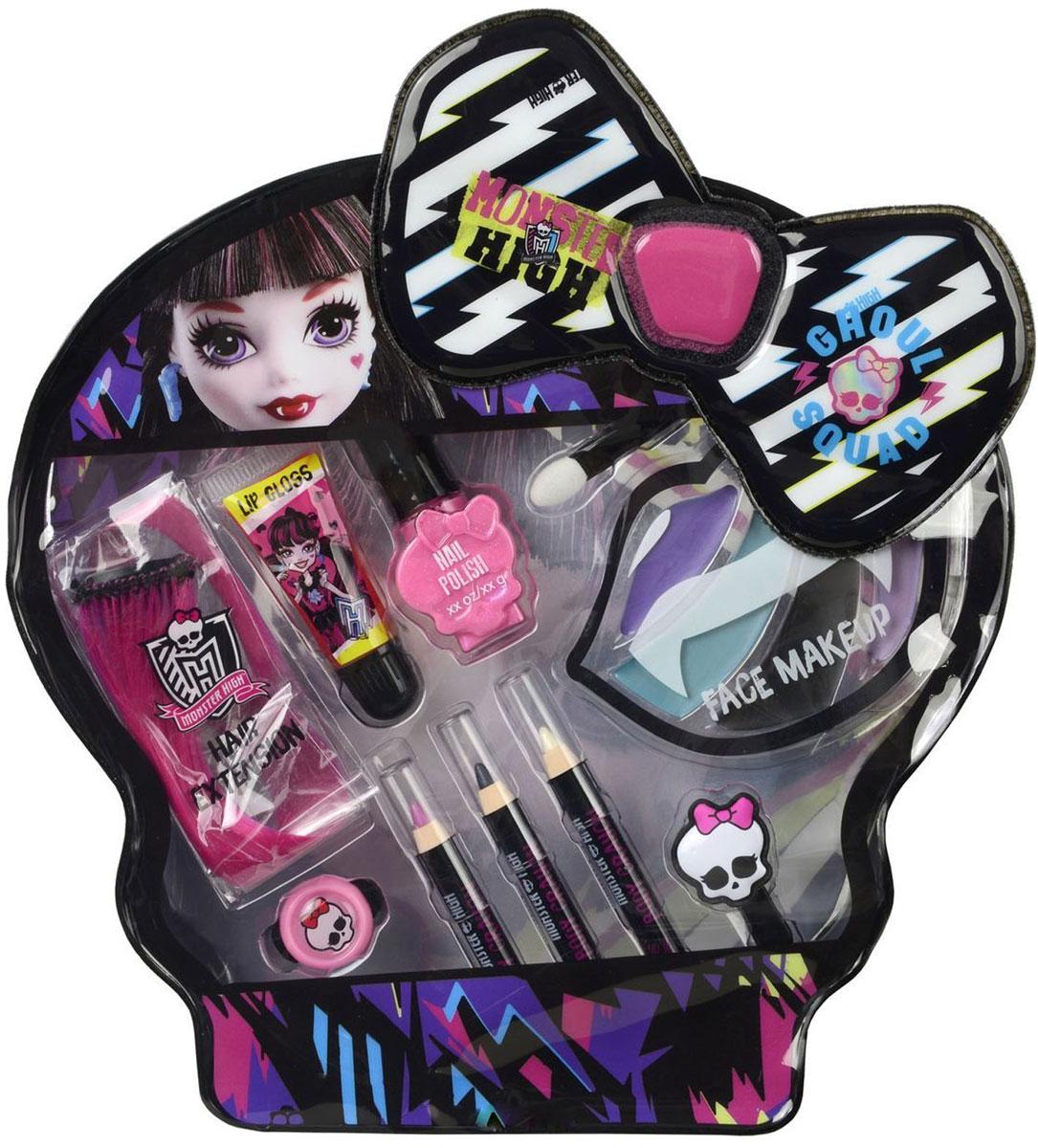 Markwins Игровой набор детской декоративной косметики Monster High Draculaura 97062519706251Набор детской декоративной косметики Monster High Draculaura может стать отличным подарком для юной модницы, который позволит ей почувствовать себя настоящим мастером макияжа.