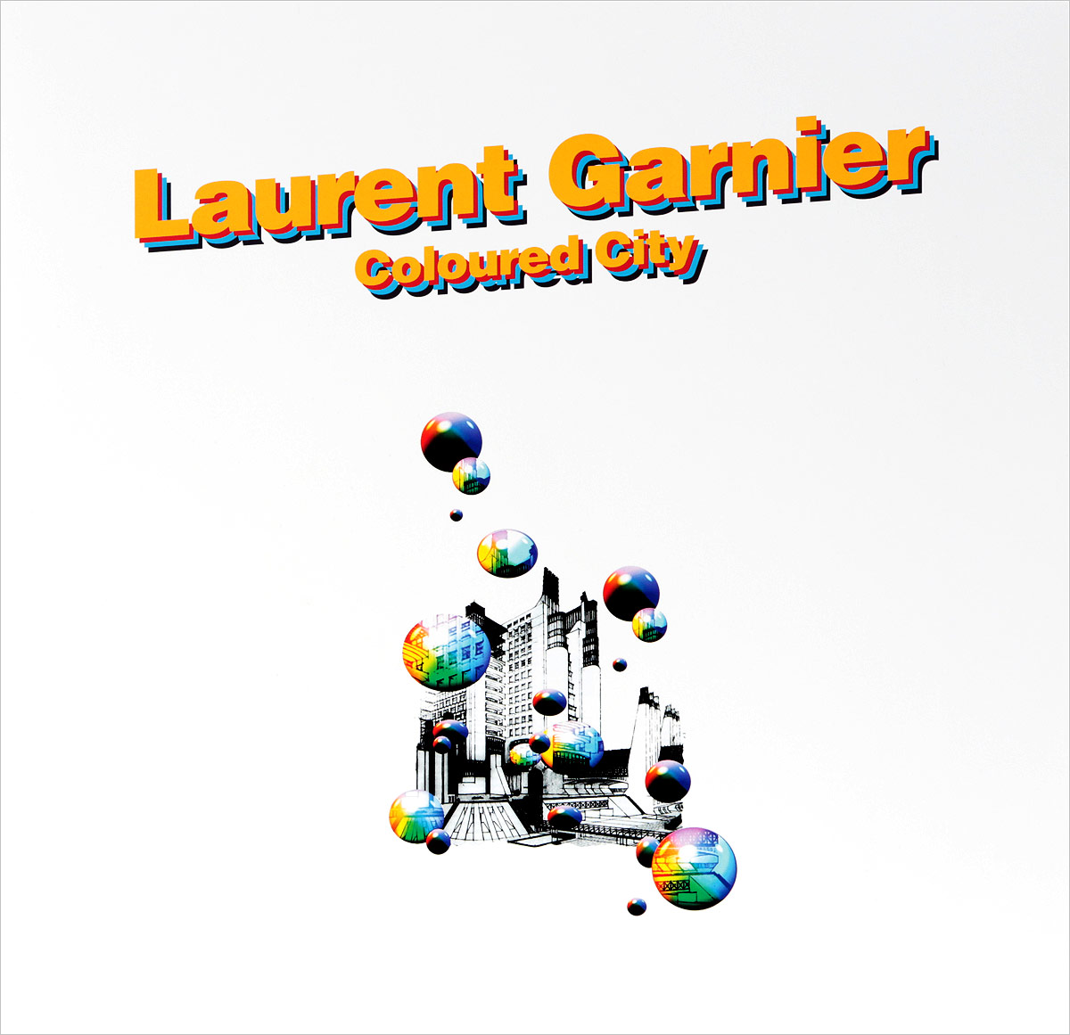 Лоран Гарнье Laurent Garnier. Coloured City (LP) лоран гарнье laurent garnier pay tv lp