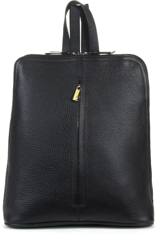 Рюкзак женский Fabio Bruno, цвет: черный. R-1611 кожаный рюкзак
