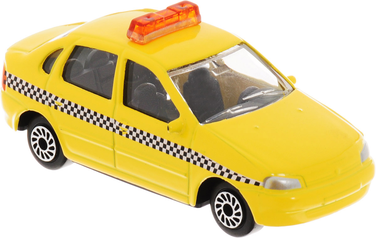 ТехноПарк Автомобиль Lada Lada Kalina Такси цвет желтый цена 2017