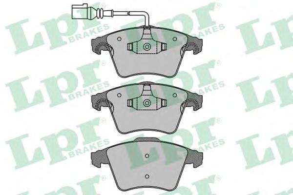 Колодки тормозные LPR / AP 05P120505P1205