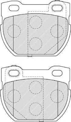 Колодки тормозные дисковые Premier Ferodo FDB1994FDB1994