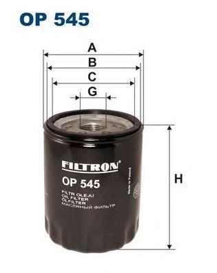Фильтр масляный Filtron OP545OP545