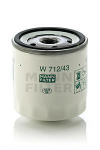 Масляный фильтрMann-Filter W71243W71243