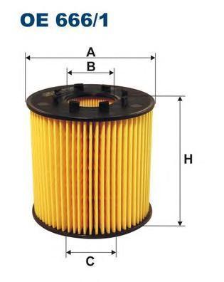 Фильтр масляный Filtron OE6661OE6661