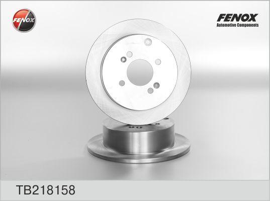 Диск тормозной Fenox TB218158 комплект 2 штTB218158