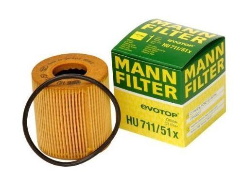 Масляный фильтроэлемент без металлических частей Mann-Filter HU71151XHU71151X