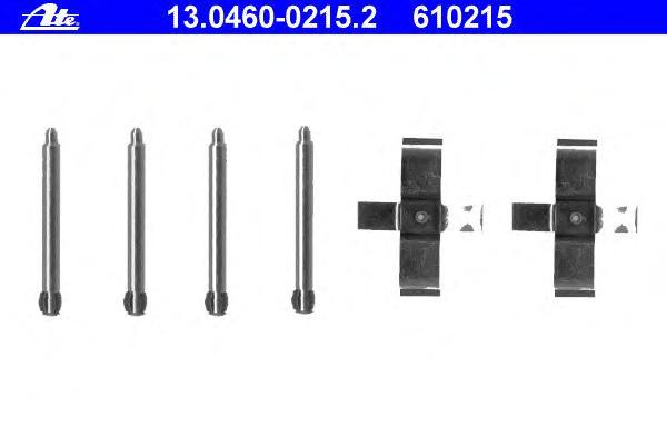Колодки тормозные Ate 1304600215213046002152