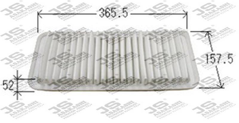 Фильтр воздушный JS Asakashi A1014A1014