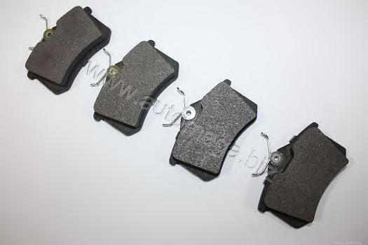 Колодки тормозные дисковые задние DELLO 3169804511H0D3169804511H0D