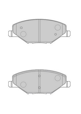 Колодки тормозные передние Ferodo FDB4590FDB4590