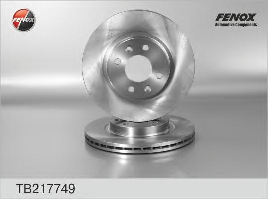 Диск тормозной Fenox TB217749 комплект 2 штTB217749