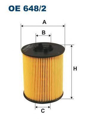 Фильтр масляный Filtron OE6482OE6482