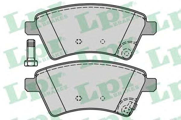 Колодки тормозные LPR / AP 05P124505P1245