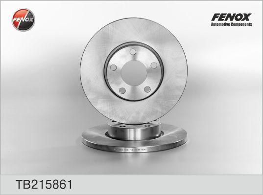 Диск тормозной Fenox TB215861 комплект 2 штTB215861