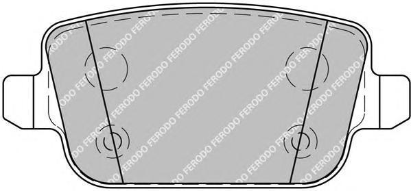 Колодки тормозные дисковые Premier Ferodo FDB1917FDB1917
