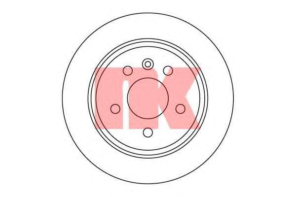 Диск тормозной NK 203333 комплект 2 шт203333