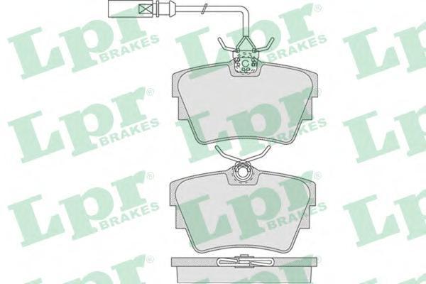 Колодки тормозные заднийLPR / AP 05P78605P786