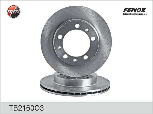 диск тормозной Fenox TB2160O3 комплект 2 штTB2160O3
