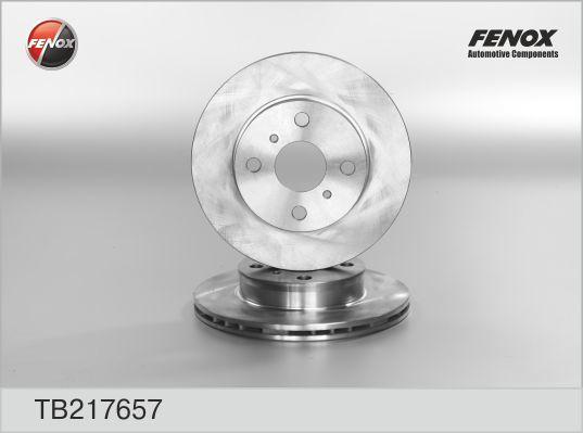 Fenox Диск тормозной. TB217657TB217657