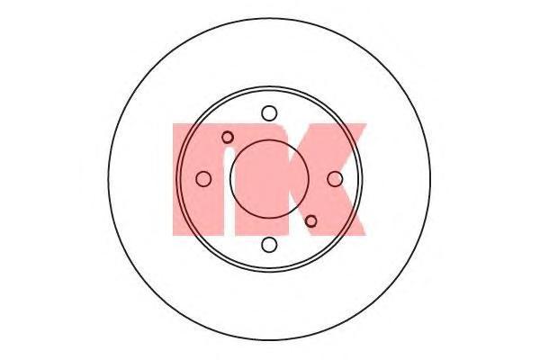 Диск тормозной NK 202251 комплект 2 шт202251