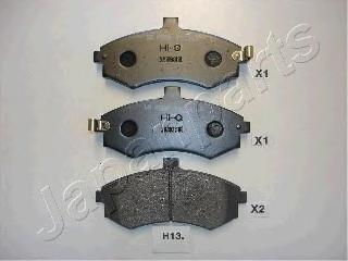 Колодки тормозные дисковые Japanparts PAH13AFPAH13AF