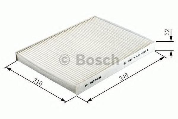 Фильтр салона (угольный) Bosch 19874323571987432357