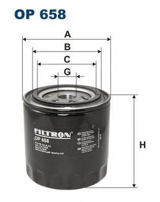 Фильтр масляный Filtron OP658OP658
