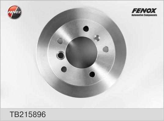 Диск тормозной Fenox TB215896TB215896